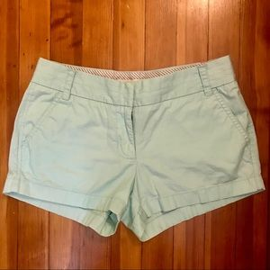 Mint green J.Crew Shorts